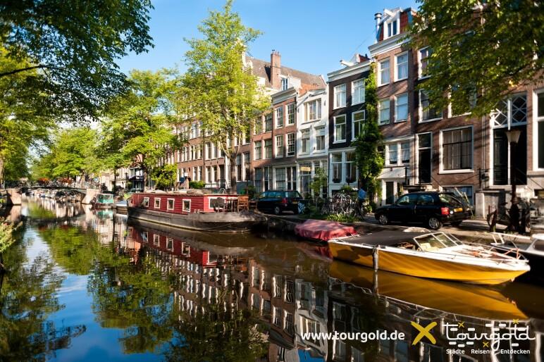 Busreise Amsterdam Grachtenfahrt