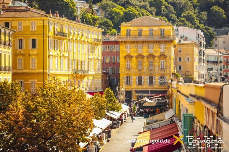 Busreise Blumenmarkt in Nizza
