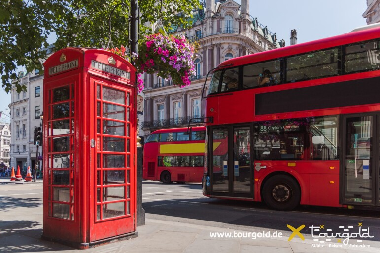 Stadtrundfahrt London - Für den Überblick mit Insidertipps!