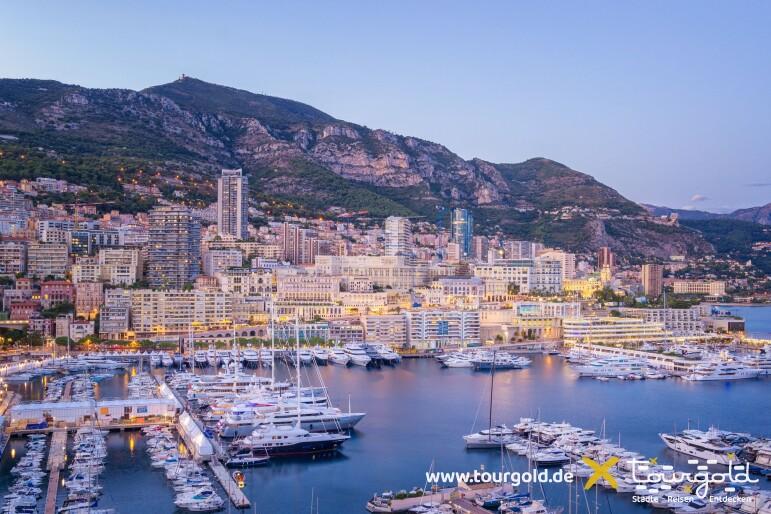 Busreise Monaco Hafen und Monte-Carlo