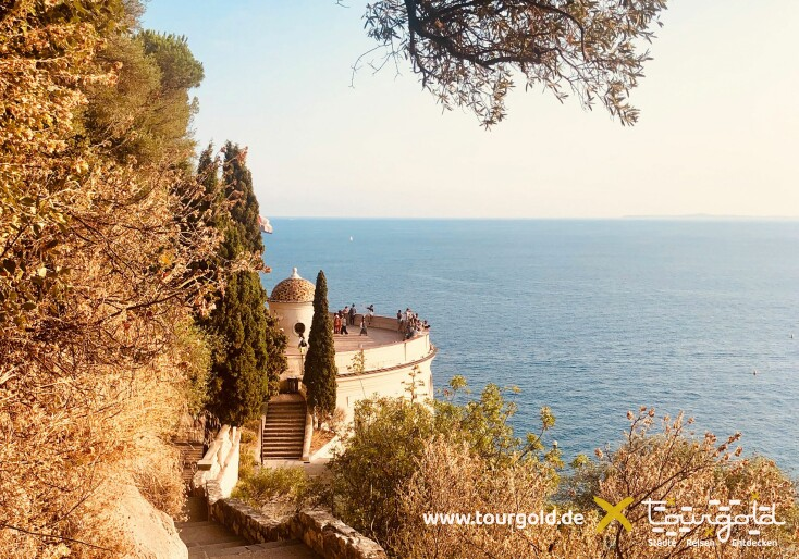 Weinrundgang auf dem Colline du Chateau in Nizza