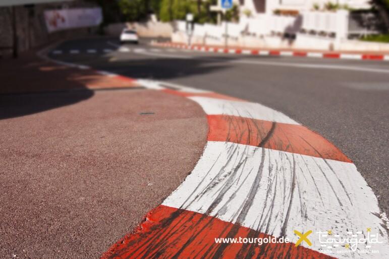 Formel 1 Rennstrecke in Monaco