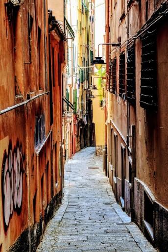 Busreise Italien Genua Altstadt Carruggi