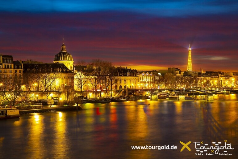 Die schönsten Ecken der Stadt der Lichter - Rundfahrt Paris bei Nacht