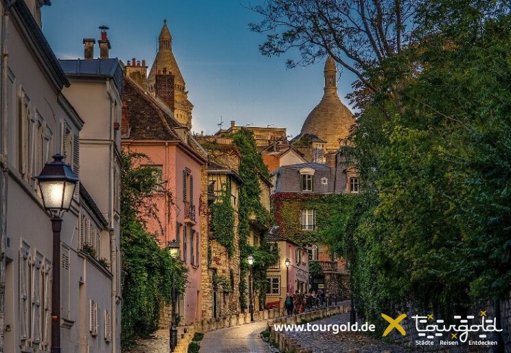 Rundgang durch das Künstlerviertel Montmartre