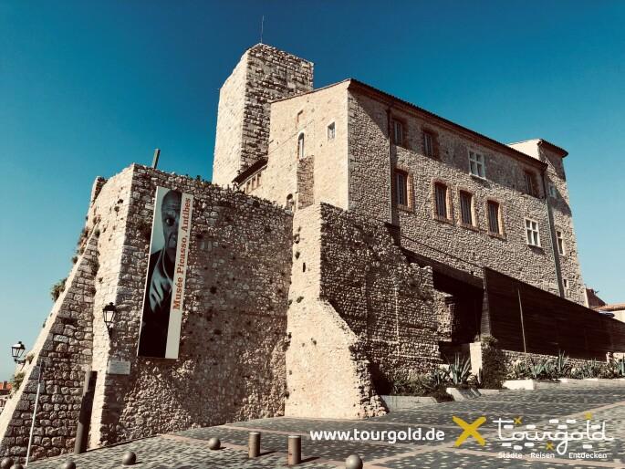 Picasso-Museum in Antibes direkt am Meer