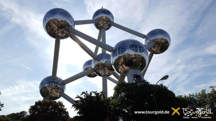 Darf bei der Busreise Brüssel nicht fehlen: Ausflug zum Atomium