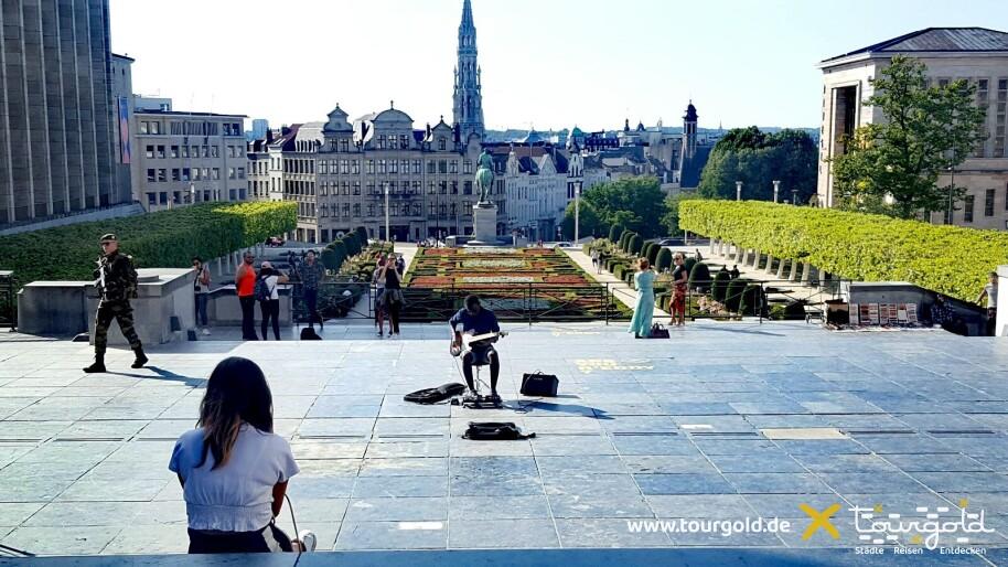Zum Kennenlernen: Brüssel Stadtrundfahrt mit Rundgang Mont des Arts