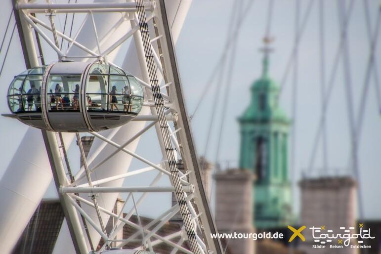 Fantastischer Blick auf die Stadt: London Eye