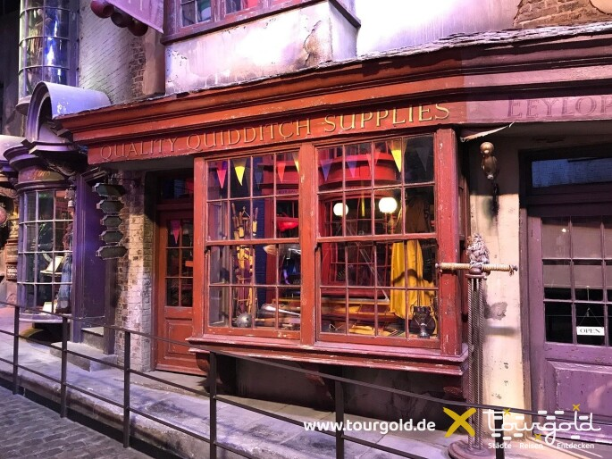 Ausflug nach Hogwarts - Harry Potter Studio Tour
