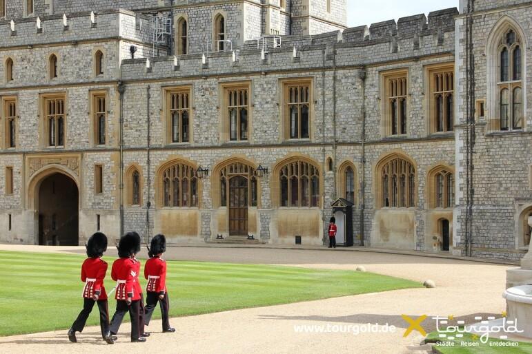 Ausflug ab London zum Schloss Windsor