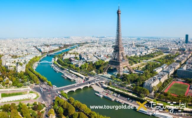 Das Wahrzeichen Frankreichs: Der Eiffelturm