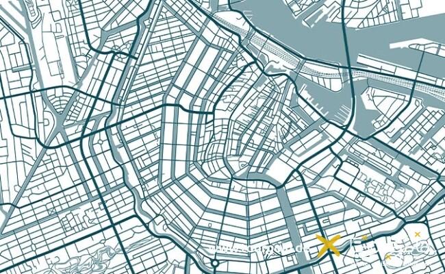 Stadtplan Amsterdam