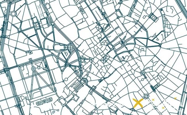 Stadtplan Brüssel