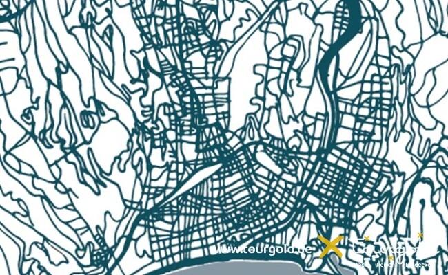 Stadtplan Nizza