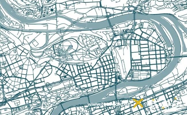 Stadtplan Prag