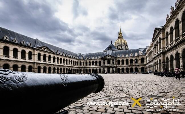 Invalidendom und Armeemuseum Paris
